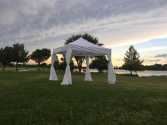 10 x 10 Canopy Tent White with Sides