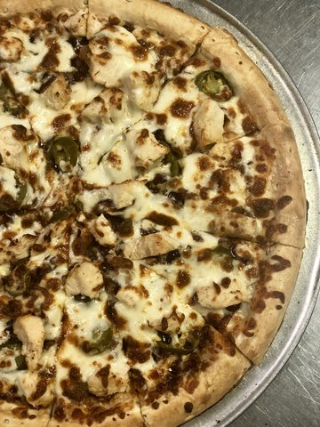 Ranch HOB Gobbler Pizza