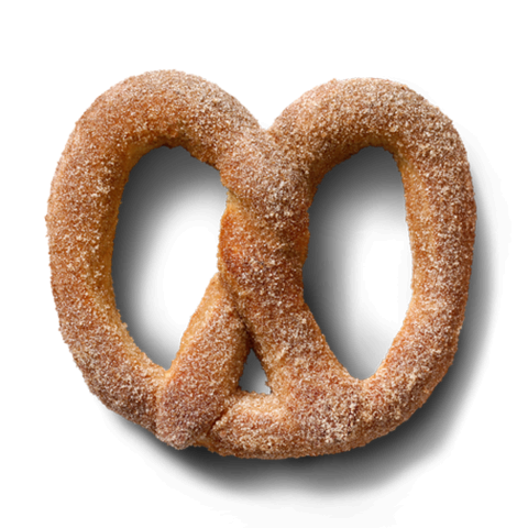 Soft Cinnamon Sugar Pretzel