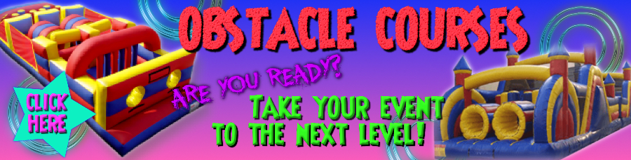 Choose from many obstacle courses.