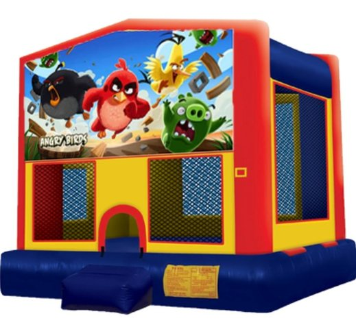 Angry Birds Panel Bounce House