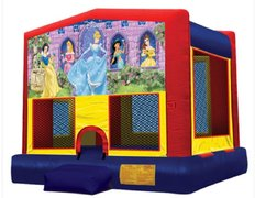 Disney Princess Panel Bounce House