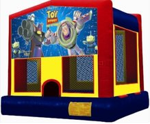 Toy Story Panel Bounce House