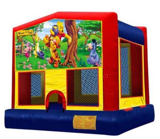 Winnie The Pooh Panel Bounce House