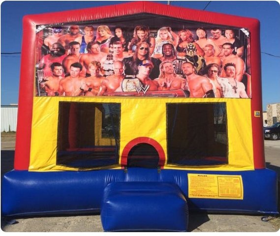 Wrestling Panel Bounce House