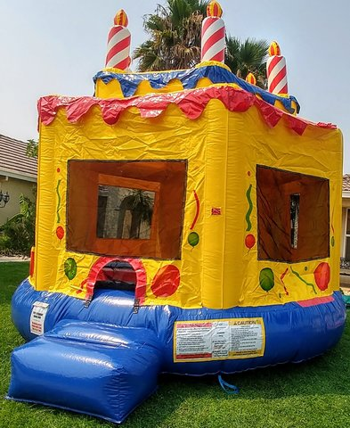 Birthday Cake Jump house