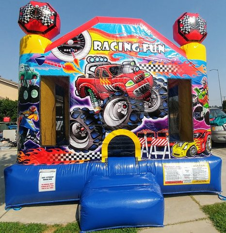 Racing Fun Jump house