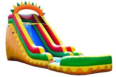 Giant Dino 21 Foot Water Slide