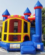 Back Yard Combo Slide Bouncer