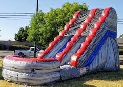 Titanium Splash 17 foot Water slide