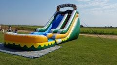 Giant 21 foot Jungle Water Slide