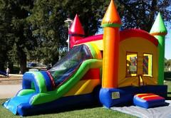 Medium Combo Bouncer Covered Slide