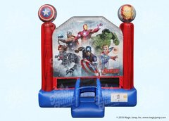 Avengers Superhero Bounce House