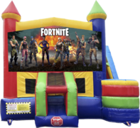 Bounce House Slide Combos
