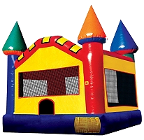 13' x 13' MEDIUM Primary-Colored Castle