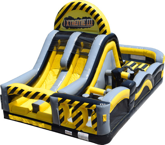 *NEW* XtremeCaution Obstacle (Compact size! 29' long, but 58' feet of fun!)