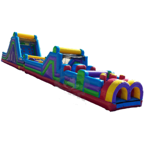 70' long obstacle & rock-climb slide package (DRY ONLY)