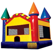 15' x 15' LARGE Primary-colored Bounce House