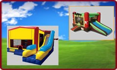 Bounce House Combos with Slides