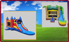 Water Slides and Bounce House Water Slides