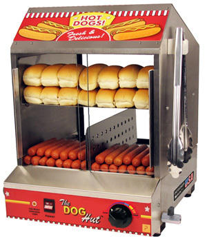 Hot Dog Hut Steamer