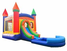 4 -1  Varicolored Combo with water slide and pool (5 years old and under)