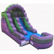 Lil Purple Marble Water Slide (6 1/2 ft Seated Slide)