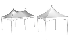 10Ft Wide Deluxe Tents