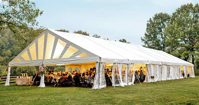 tent rental bay area