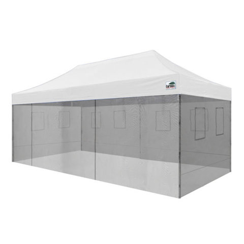 10' X 20' Pop Up   Canopy With Food Mesh