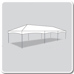15 x 40 Deluxe Frame Tent