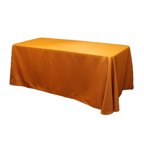 Orange 6' Table Linen