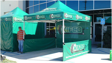Customized Popup Canopy Rental