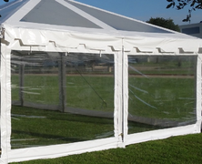 20' Clear Sidewall (15' wide tents)