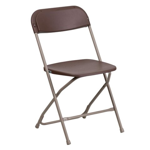 Brown Festival Chairs (Rough Shape - Discounted)