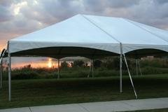 40 x 40 Deluxe Frame Tent