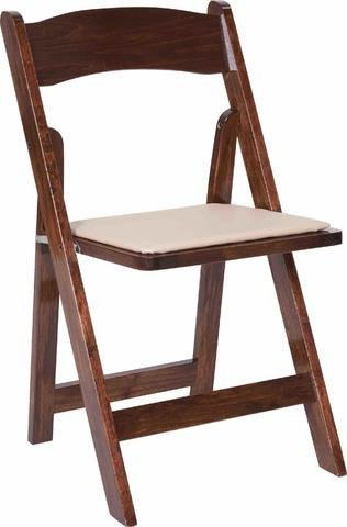 Fruitwood Padded Chairs