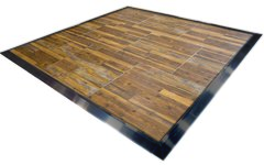 30' x 30' Barnwood Dance Floor