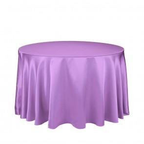 Lavender Satin Full Drop 120 Inch