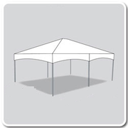 15 x 20 Deluxe Frame Tent