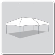 15 x 30 Deluxe Frame Tent