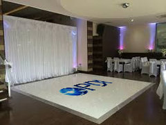 Dance Floor Rental w/ Custom Graphic