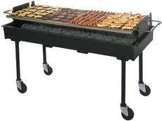 5Ft Charcoal BBQ Grill