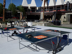Ping Pong Rental w/ Custom Logo/Graphic