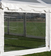 10' Clear Sidewall Section (30' wide tents)