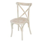 Lime Wash Crossback Chairs