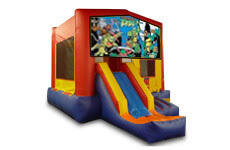 Ninja Turtles with Slide