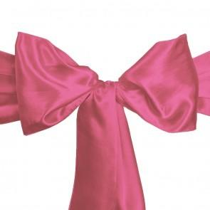 Rose Satin Sash