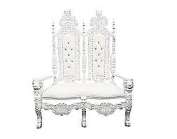 Throne Love Seat  2 (Silver or Gold)