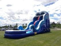 Water Slides/Wet Bounce Slide Combos